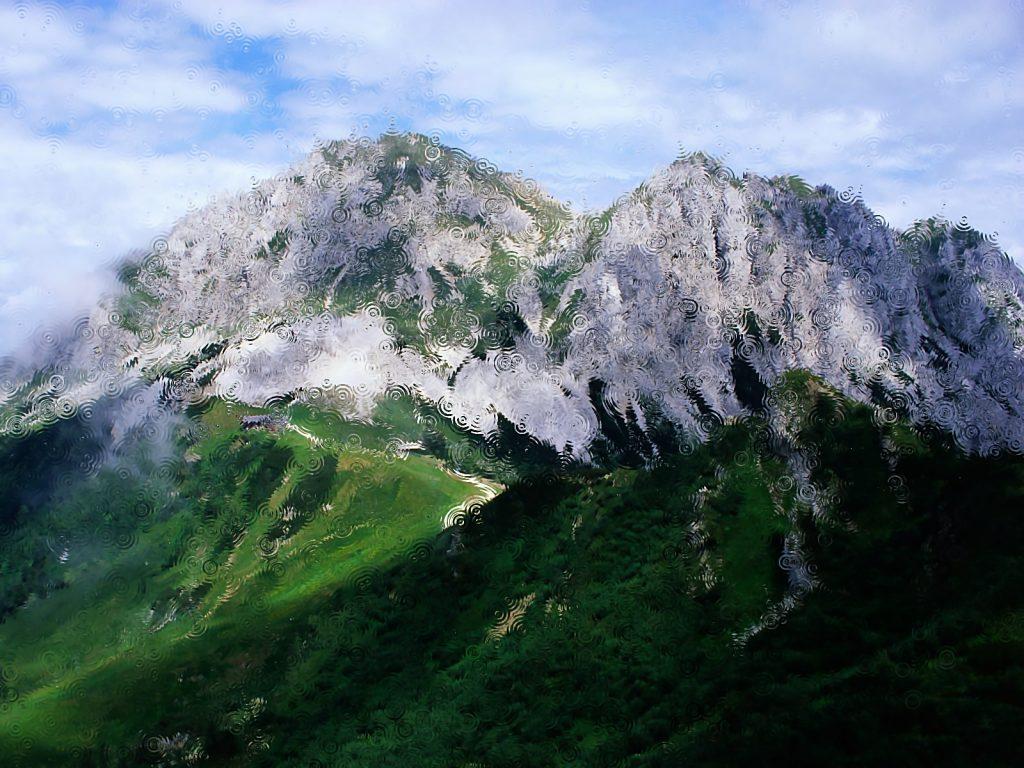Горы во сне