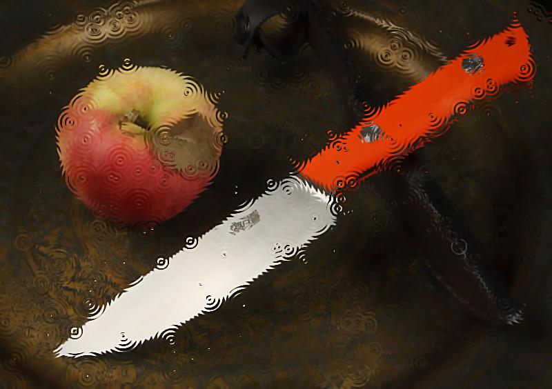 Нож во сне
