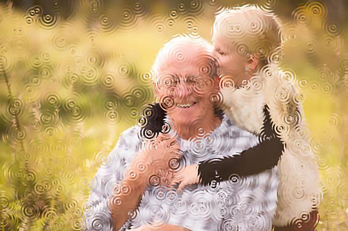 Дедушка во сне