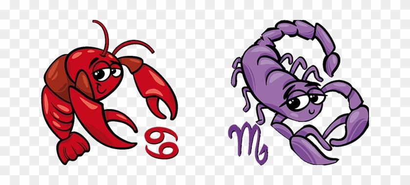 Скорпион Женщина и Рак Мужчина