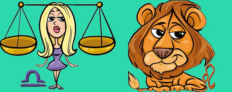 Женщина Лев и Мужчина Весы