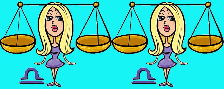 Весы Женщина и Весы Мужчина