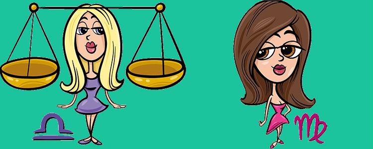 Весы Женщина и Дева Мужчина