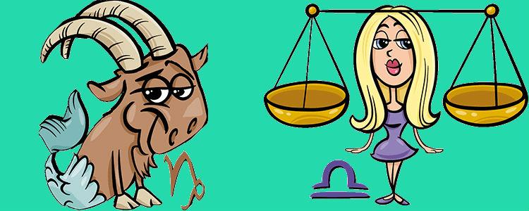 Весы Женщина и Козерог Мужчина